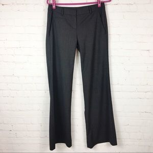 Theory Wool blend Pants Relaxed Fit Size 2 Gray